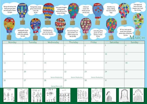 Layout Design - Calendar