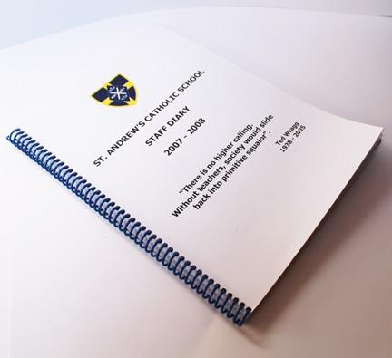 Spiral-Bound Booklet